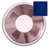 7mm CS-106 Hotfix Punch Spangle Tape-Cobalt (Royal) spangle reel, reel, punch spangle, punch style, spangle tape
