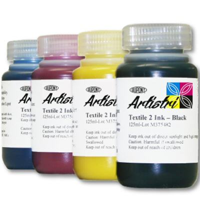 CMYK 1 Liter (1000ml) DTG Ink Kit dtg ink, cmyk ink, ink kit