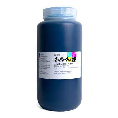 DTG Cyan Ink 250ml dtg ink, cyan ink, cyan, ink