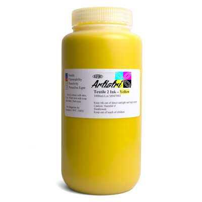 DTG Yellow Ink 500ml dtg ink, yellow ink, yellow, ink