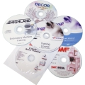 Training disks for embroidery, dtg, rhinestone, and more.