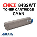 OKI Cyan Toner Cartridge for 8432WT