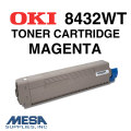OKI Magenta Toner Cartridge for 8432WT