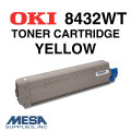 OKI Yellow Toner Cartridge for 8432WT