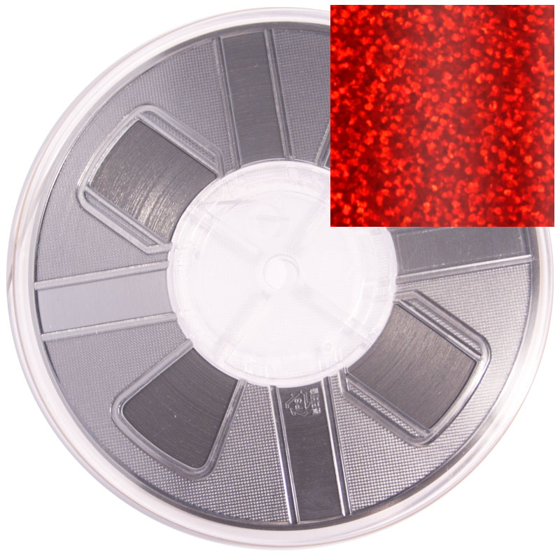 Vista 6mm Spangle reel - Red