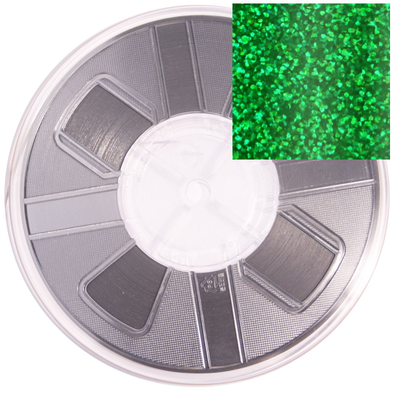 Vista 6mm Spangle reel - Green