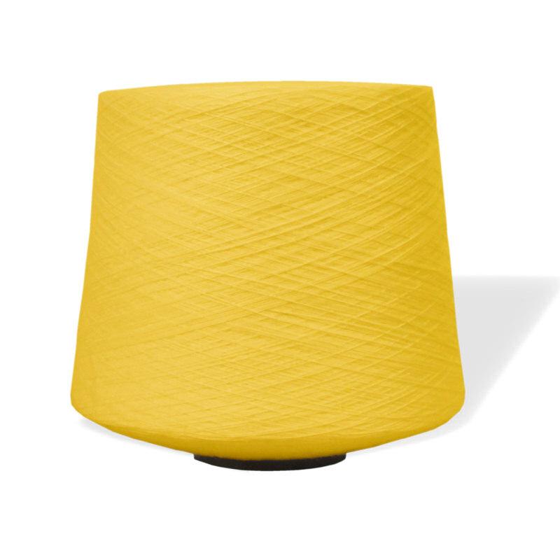 Chenille Yarn Yellow - 2 5lb Cone