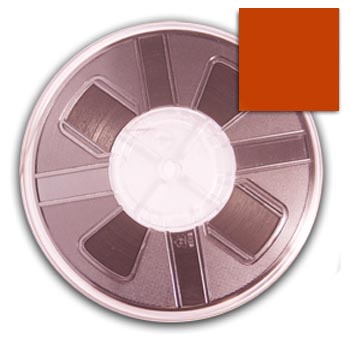 5mm Hotfix Spangle Tape - Orange spangle reel, reel, punch spangle, punch style, spangle tape