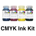 Dupont CMYK 1 Liter (1000ml) DTG Ink Kit dtg ink, cmyk ink, ink kit