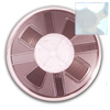 3mm Hotfix Spangle Tape - Silver Hologram HS-201 spangle reel, reel, punch spangle, punch style, spangle tape
