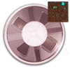 7mm Hotfix Spangle Tape - Bronze Hologram spangle reel, reel, punch spangle, punch style, spangle tape