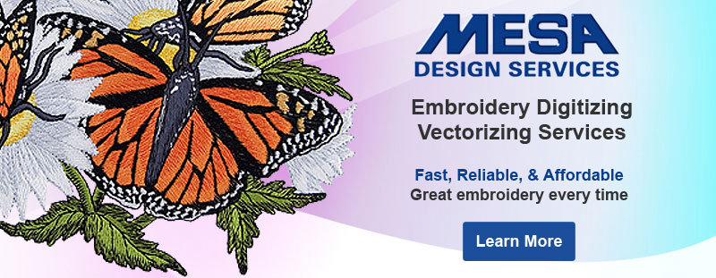 Mesa Design Services: Digitizing and Vectorizing Services
