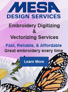 Embroidery Digitizing and Vectorizing Service