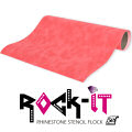 Rock-It Rhinestone Template Flock